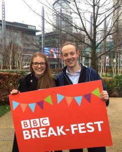 Jess on BBC Break-Fest