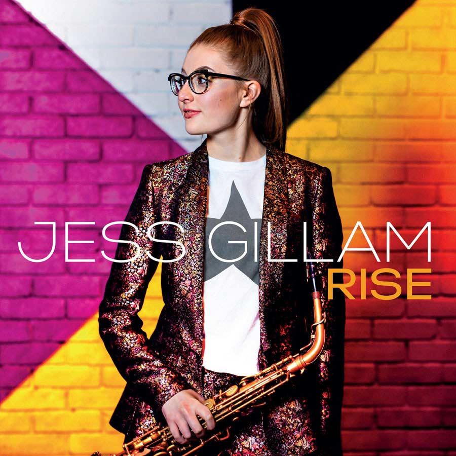 Jess Gillam Rise Album cover